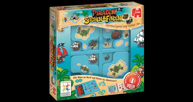SmartGames Suchen und Finden Piraten