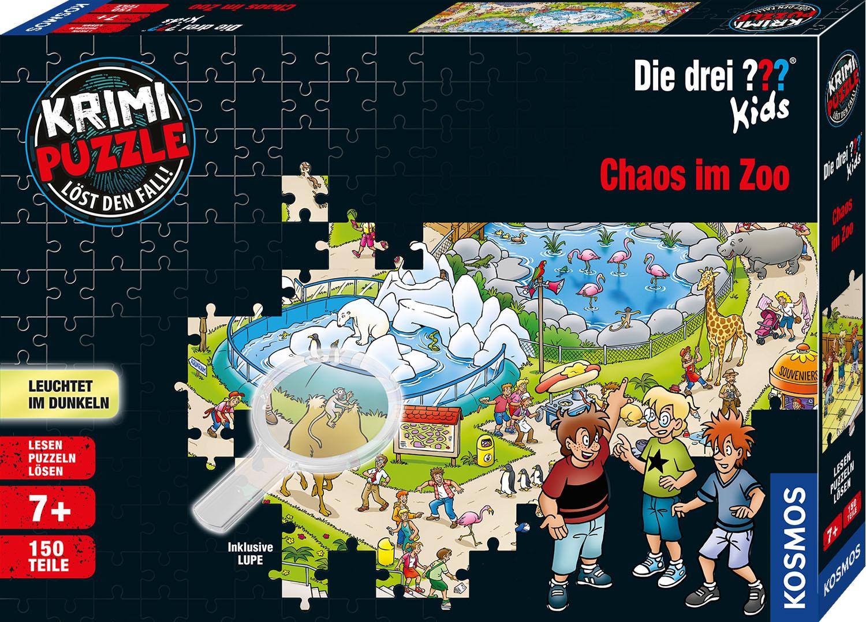 Krimipuzzle ??? Kids 150 Teile - Chaos