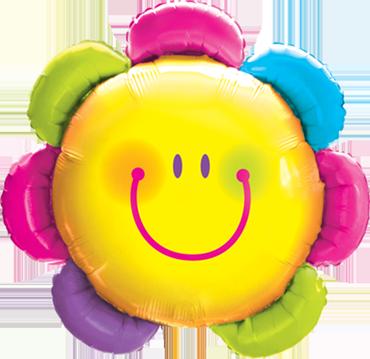 Folienballon Supershape Blume - 61351