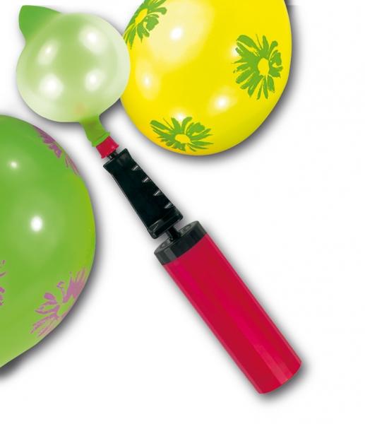 Ballonpumpe verschieden sortiert