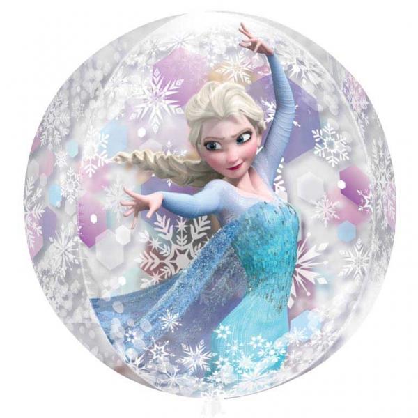 Folienballon transparent Frozen