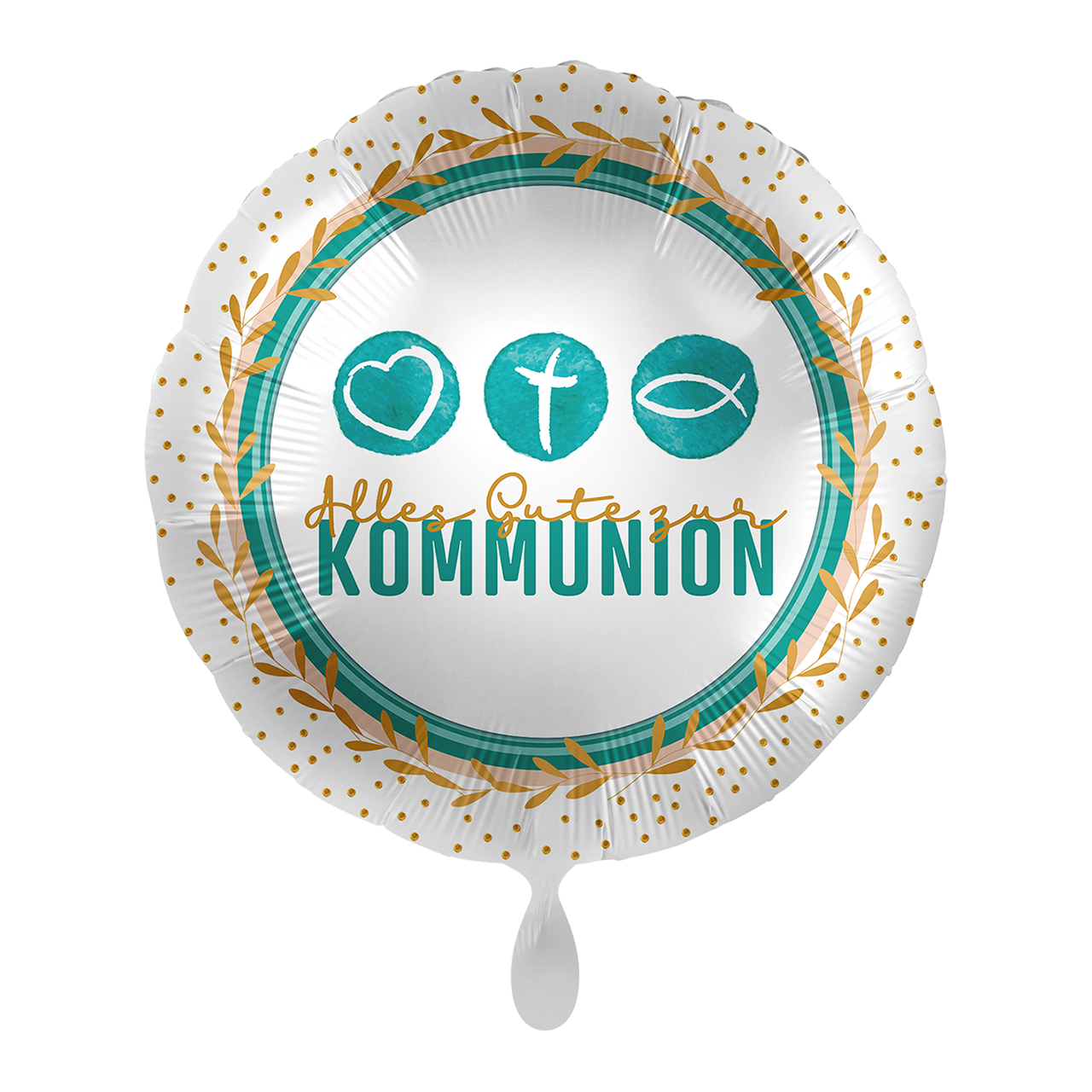 Folienballon Kommunion Symbols - 65295