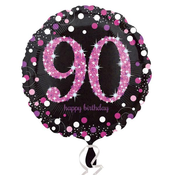 Folienballon Pink Celebration 90